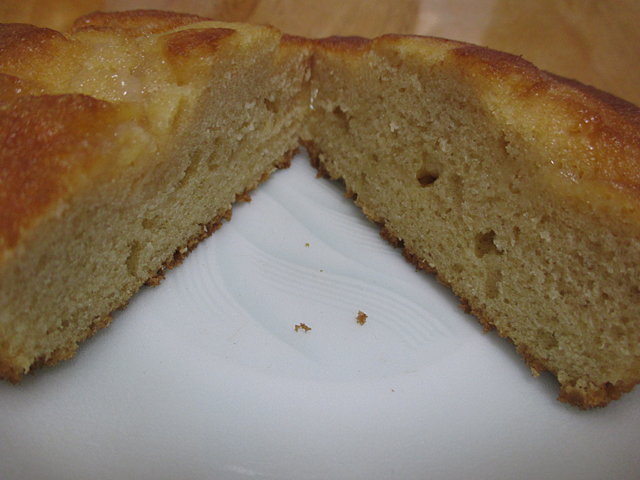 しみこむメープルケーキ