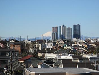 武蔵小杉の高層ビル