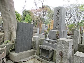 栗島すみ子の墓