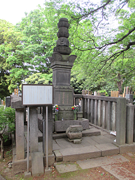加藤清正の供養塔