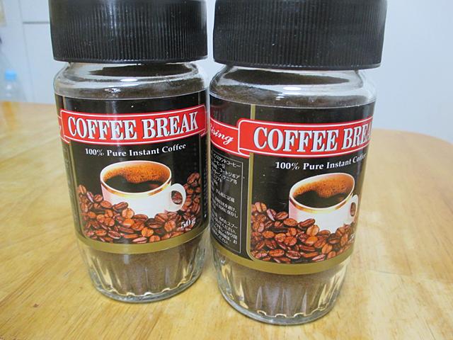 コーヒー染色