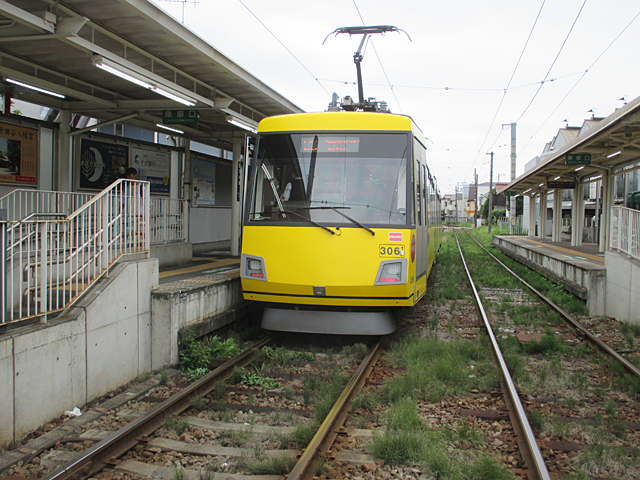 東急世田谷線宮の坂駅