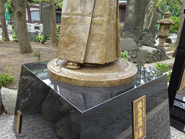 北の湖銅像