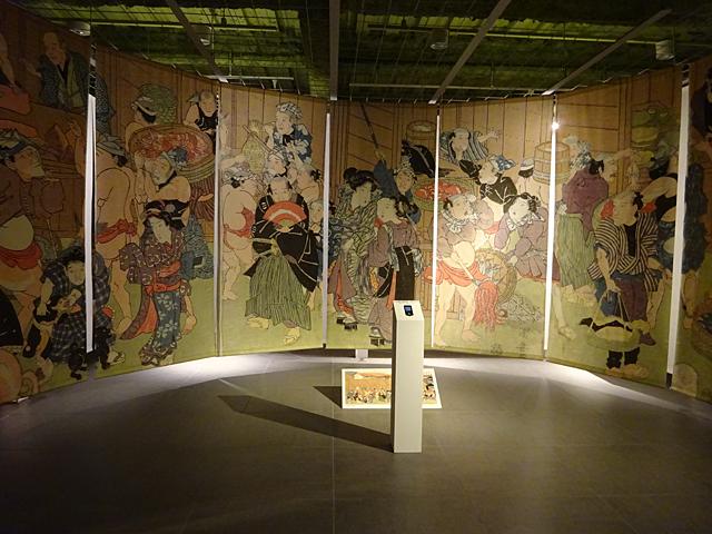 浮世絵の作品展