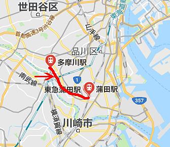 東急多摩川線