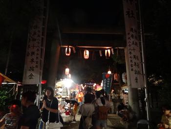 徳持神社の例大祭