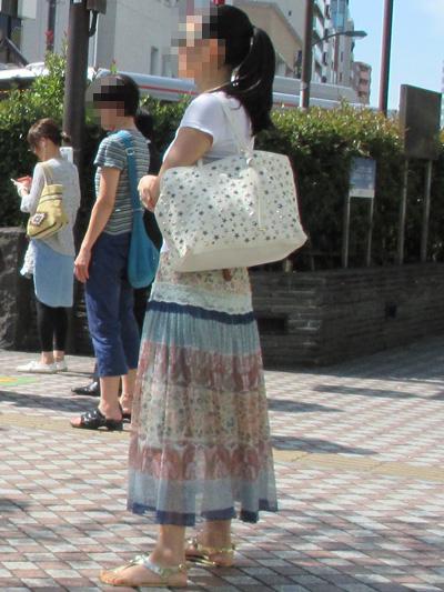 アラフィフの夏のスカート