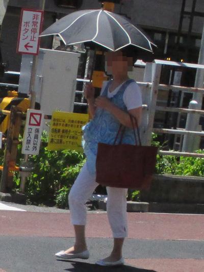 ユニークな日傘