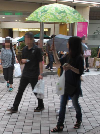 ひまわりの傘