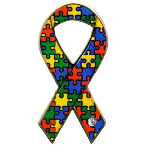 ジグソーリボン(自閉症など発達障害支援)