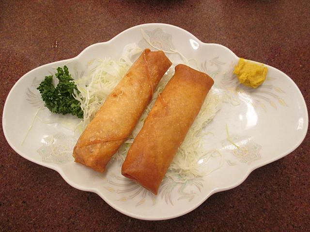 三ちゃん食堂の春巻