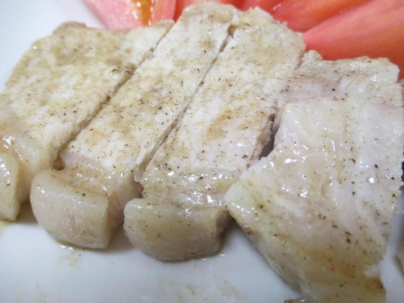 ブタ肉塩焼きライスは厚めの豚肉塩焼きで『孤独のグルメSeason5』第9話で舞台となった源氏食堂が厚いロース豚肉を提供
