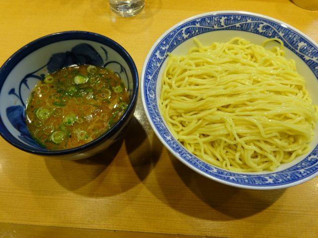 中華そば青葉川崎アゼリア店のつけ麺