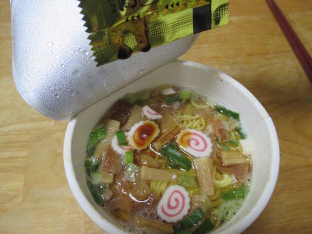 後入れの液体スープ