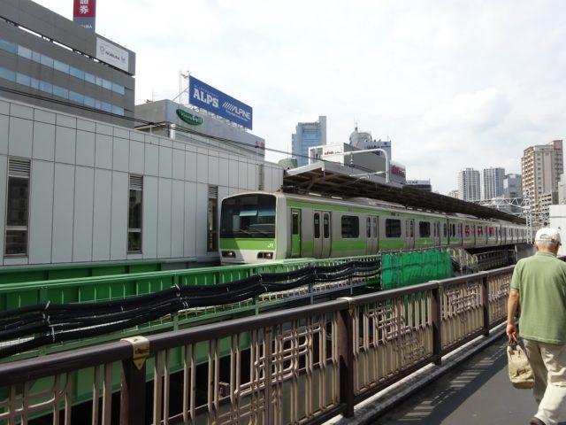 JR山手線の五反田駅