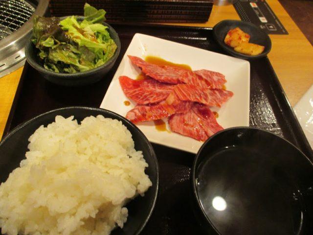 焼肉乙ちゃん大森ベルポート店のカルビ定食
