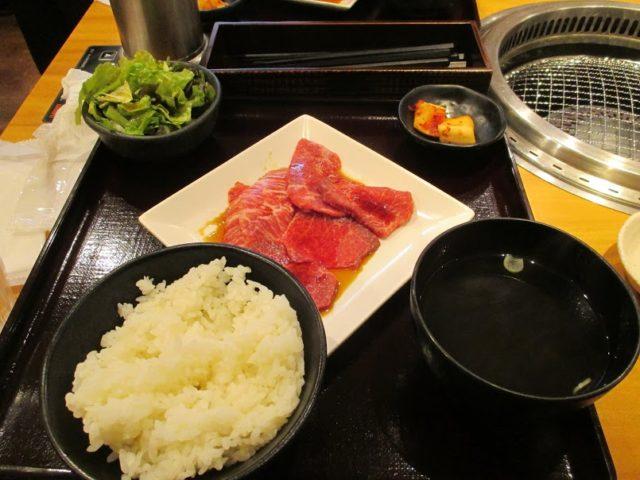 焼肉乙ちゃん大森ベルポート店のロース&カルビ定食