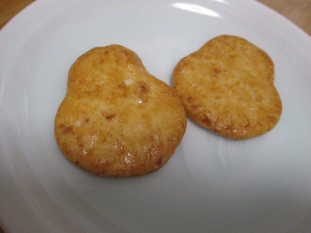 堂本製菓のだるま煎餅