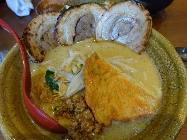 麺場田所商店池上店の九州麦味噌味噌漬け炙りチャーシュー麺