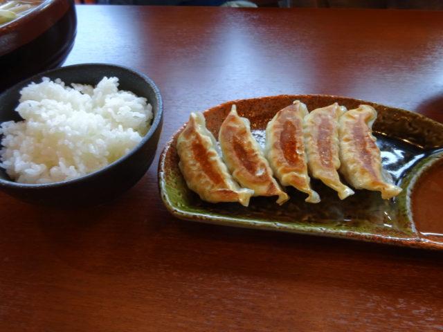 餃子+ライス(小)セット