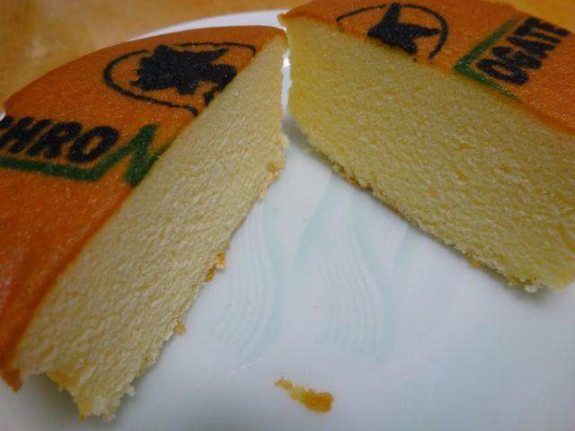 シフォンケーキの生地