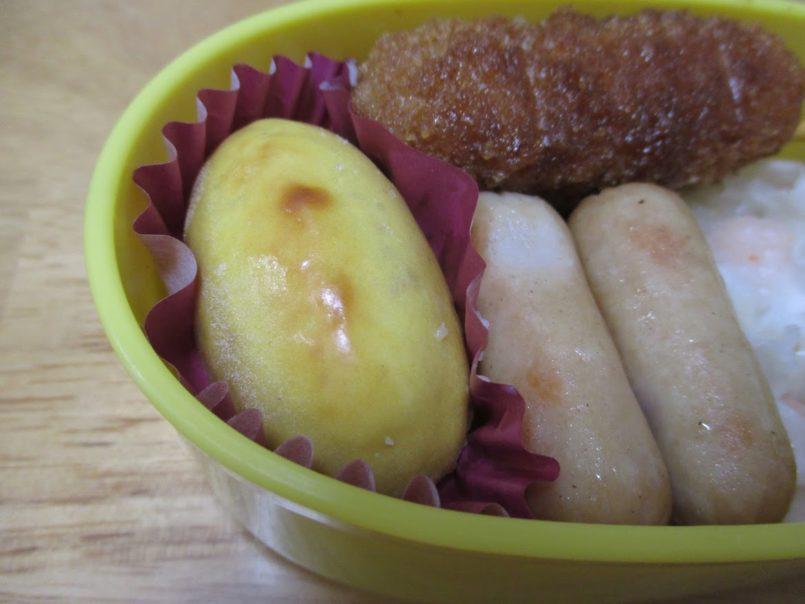 スイートポテト(ニチレイフーズ)は自然解凍で食べられる九州産さつまいもを使用した小さめサイズのスイートポテトです
