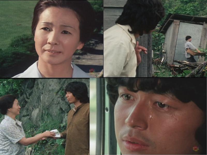 『ゆうひが丘の総理大臣』は孤児院で育った大岩雄二郎と実母(南風洋子さん)との関係も見どころで母親との出会いは胸一杯に
