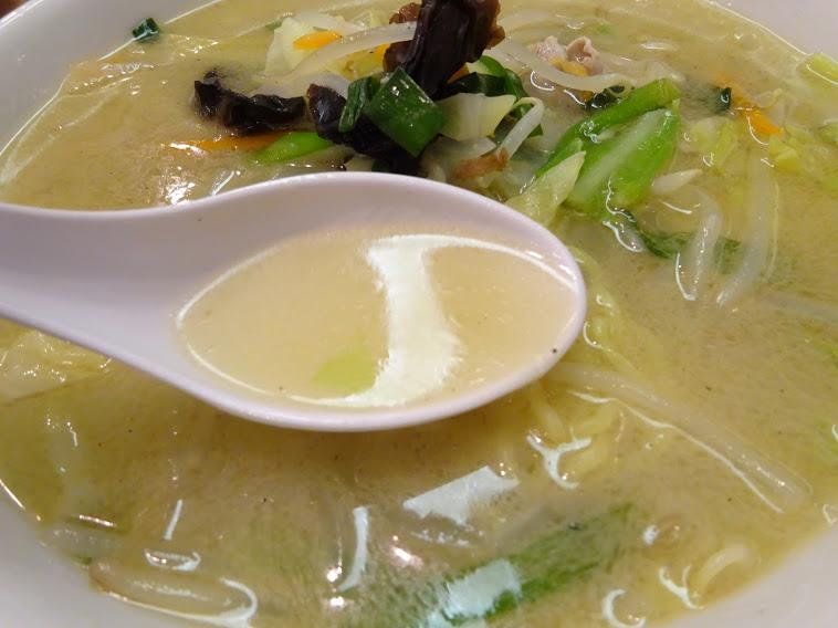 野菜炒めスープ麺