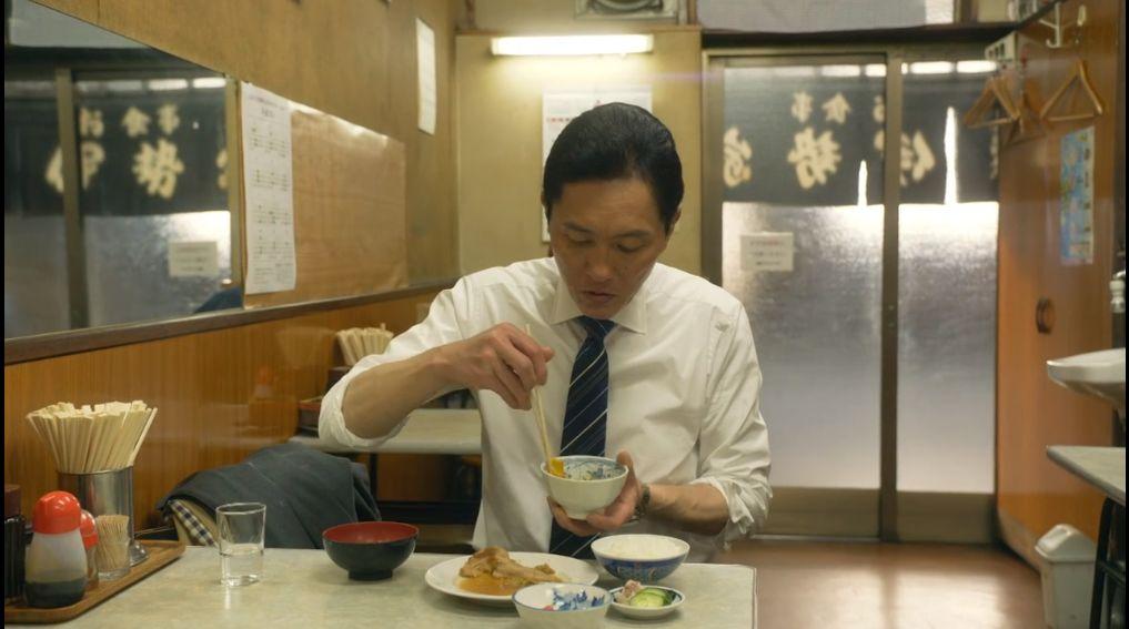 『孤独のグルメSeason6』第2話より満足そうな井之頭五郎