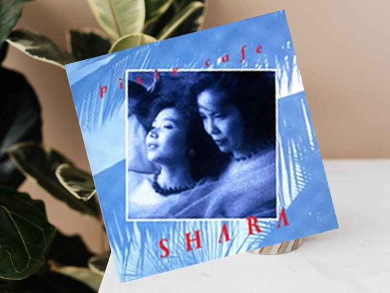『ピクシー・カフェ』は、SHARA(シャラ)というジャズ歌手が1991年にリリースした歌うボサノバ的サウンドを思い出します