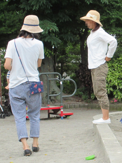 アラフィフの夏の帽子はストローハット!
