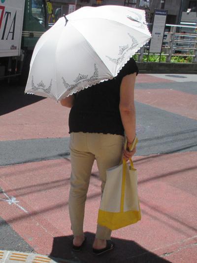 アラフィフ主婦には必携の日傘